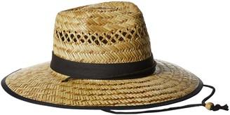 San Diego Hat Company San Diego Hat Co. Men's UPF 50 Wide Brim Straw Lifeguard Outback Sun