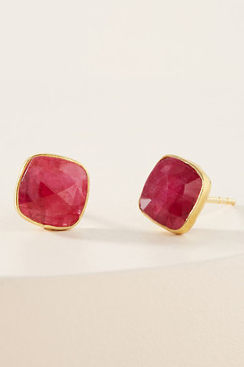 Jemma Sands Montecito Post Earrings By in Black