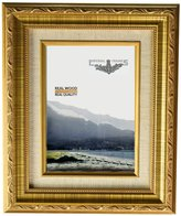 Imperial Frames 9 by 12-Inch/12 by 9-Inch Picture/Photo Frame, Dark with Floral Design and A Canvas Liner