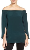 Bailey 44 Trainspot Off the Shoulder Top