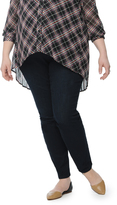 Motherhood Plus Size Petite Secret Fit Belly Skinny Leg Maternity Jeans