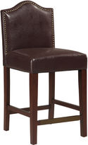 JCPenney Oxford Upholstered Barstool with Nailhead Trim