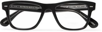 Oliver Peoples Oliver Square-Frame Acetate Optical Glasses - Men - Black