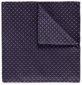 Armani Collezioni Dash jacquard silk pocket square