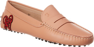 Tod's Gommini Leather Moccasin