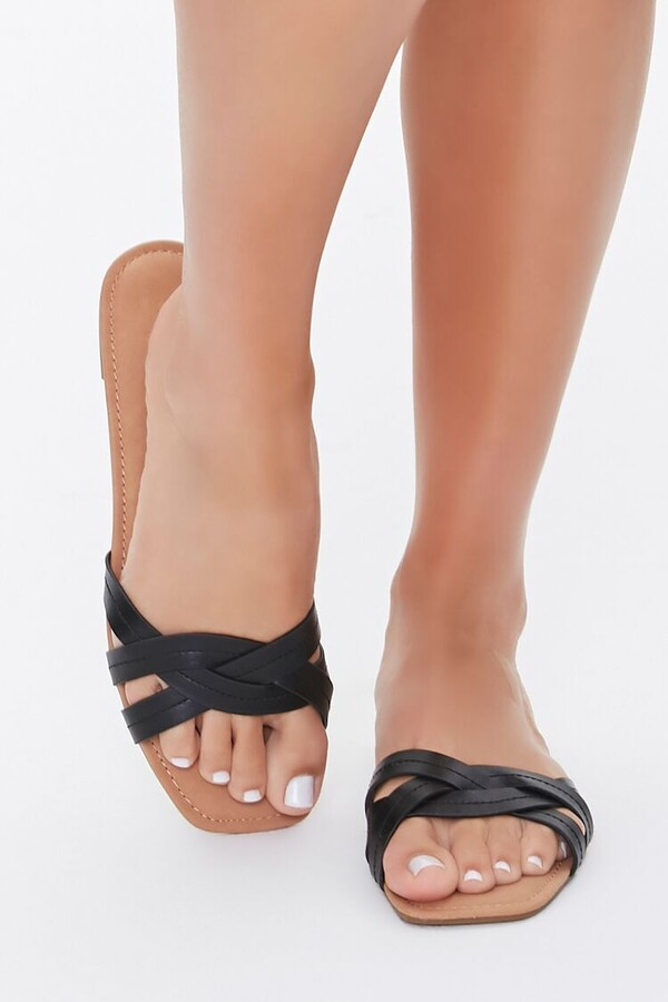 Thumbnail for your product : Forever 21 Braided Crisscross Sandals