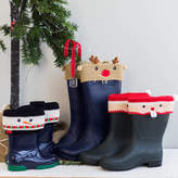 Rocket and Fox Personalised Christmas Boot Cuffs