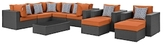 Sojourn Patio Sectional Set (11 PC)