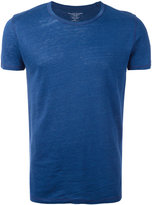 Majestic Filatures round neck T-shirt - men - Silk/Linen/Flax - S