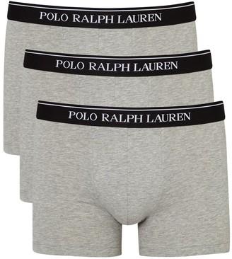 Polo Ralph Lauren Grey stretch cotton boxer briefs - set of three