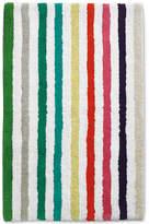"""Kate Spade Candy Stripe Cotton 21"""" x 34"""" Bath Rug"""