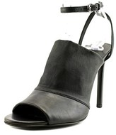 Vince Grace Peep-toe Leather Heels.