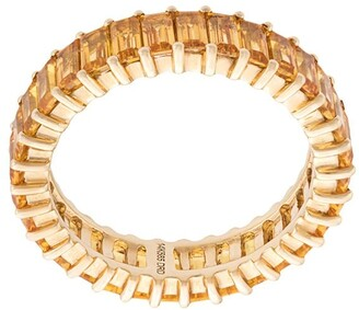 Dana Rebecca Designs 14kt yellow gold Kristyn Kylie sapphire band