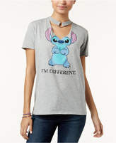 Disney Juniors' Cotton Stitch O-Ring Choker T-Shirt