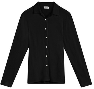 Leset Dylan Fitted Button-Up Shirt