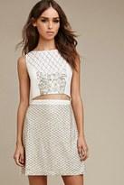 Forever 21 FOREVER 21+ Raga Beaded Sequins Skirt