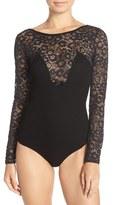 For Love & Lemons Women's 'Daisy' Long Sleeve Bodysuit