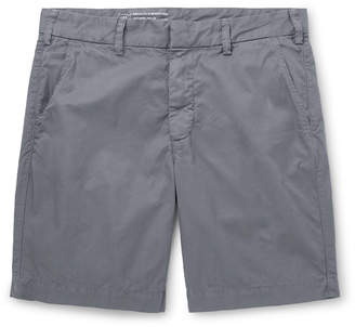 SAVE KHAKI UNITED Slim-Fit Cotton-Twill Shorts