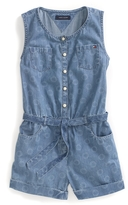 Tommy Hilfiger Final Sale-Sleeveless Denim Romper