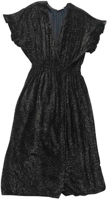 Masscob Black Dress for Women