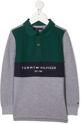 Tommy Hilfiger Junior Colour Block Polo Shirt