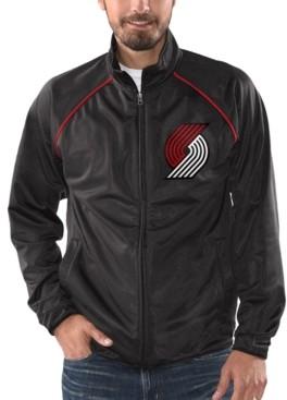 G Iii Sports G-iii Sports Men's Portland Trail Blazers Night Lights Track Jacket