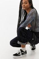 Vans Old Skool Platform Trainers - black UK 3 at Urban Outfitters