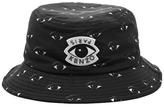 Kenzo Men's Blue Tiger Bucket Hat Black Eye