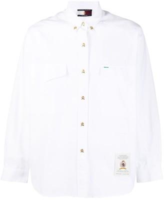 Tommy Hilfiger Crest Logo Embroidered Shirt