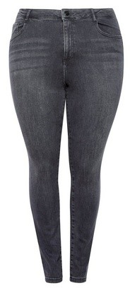 Dorothy Perkins Womens Dp Curve Black 'Alex' Jeans, Black