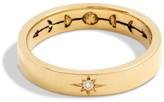 Sun & Moon Ring 14K Yellow Gold