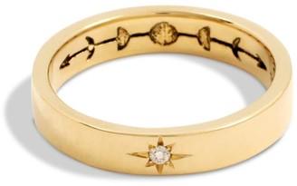 Futaba Hayashi Sun & Moon Ring 14K Yellow Gold