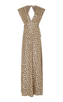 Manoush Printed V-Neck Maxi Dress