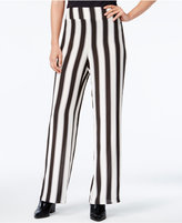 Bar III Striped Pull-On Pants, Only at Macy's