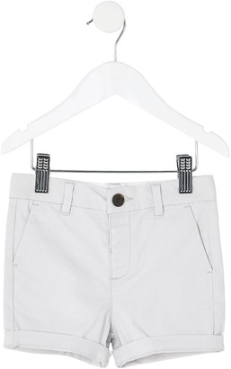River Island Mini Boys Chino Shorts-Grey
