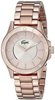 Lacoste Women's 2000851 Madeira Rose Gold-Tone Stainless Steel Watch