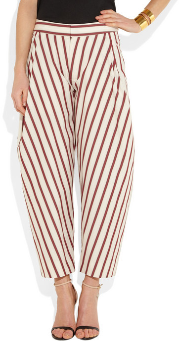 Chloé Tapered cotton pants