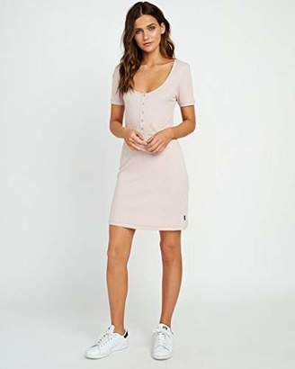 RVCA Women's Go For Broke Ribbed Dress
