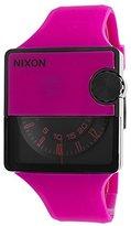 Nixon Women's Murf A237644 Silicone Analog Quartz Watch