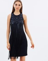 Karen Millen Fringe Mini Dress