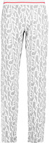Calvin Klein Underwear Printed stretch cotton and modal-blend pajama pants