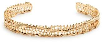 Aurelie Bidermann Fine Jewellery Fine Jewellery - Lace Yellow-gold Cuff - Womens - Gold