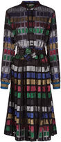 Dodo Bar Or Multi Lurex Soraya Shirt Dress