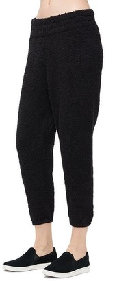 UGG Valentene Fluffy Knit Joggers - Black, Small