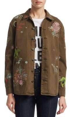 Cinq à Sept Whimsical Embroidered Canyon Jacket
