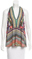 Clover Canyon Sleeveless Photographic Print Top