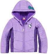 Hello Kitty Girls Heavyweight Puffer Jacket-Preschool