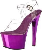 Pleaser USA Women's Sky308/C/PPCH Dress Sandal