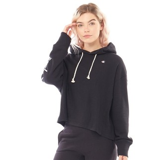 Champion Womens Reverse Weave Maxi Hoodie Black