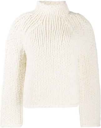 Vince chunky-knit jumper